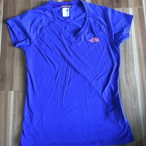 The North Face v neck tee